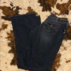 Silver sumo jeans 30/35